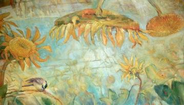 fredericks-acrylic-sunflowers